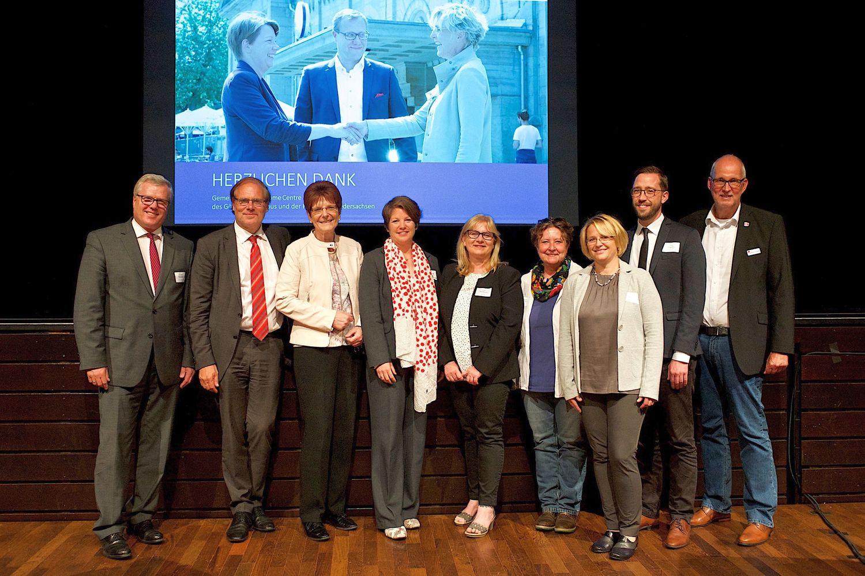 Auf der Veranstaltung stellten sich auch die Leiterinnen und Leiter der Regionalbüros im Landkreis Göttingen vor.