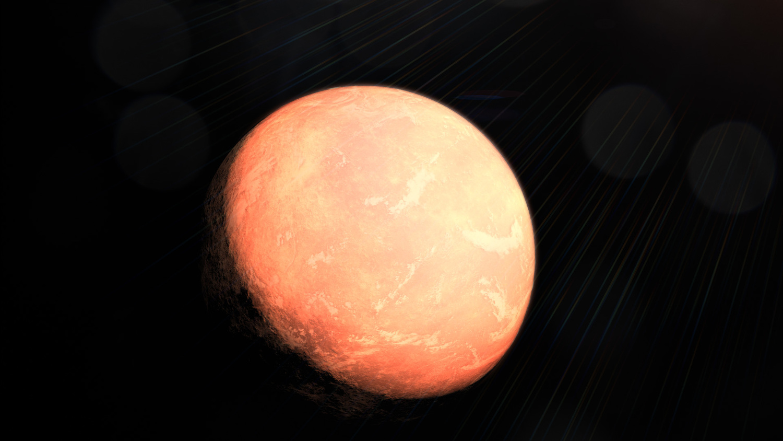 Künstlerische Darstellung des Planeten GJ 357 c.