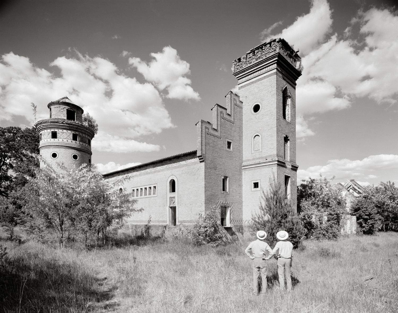 Gentzrode, Kornspeicher mit Wohnturm.