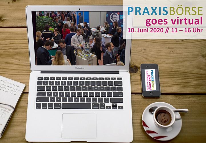 Virtuelle Praxisboerse (Montage)