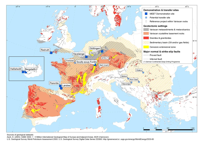 Europaweites Projekt: Ziel ist ein Überblick über das wirtschaftliche Potenzial und die CO2-Einsparungen an verschiedenen Standorten.