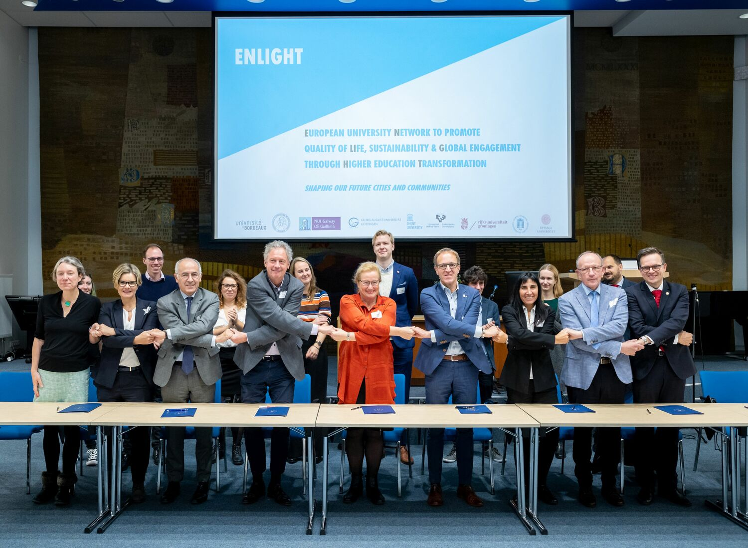 "The University of Göttingen and eight other universities from all over Europe have formally launched a new network of higher education called ""Enlight""."