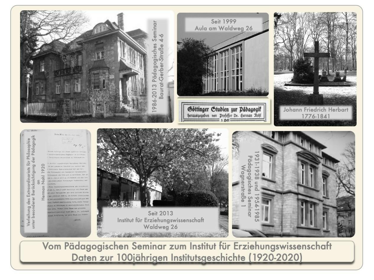 Das Institut für Erziehungswissenschaft (IfE) der Universität Göttingen feiert 2020 sein hundertjähriges Bestehen.