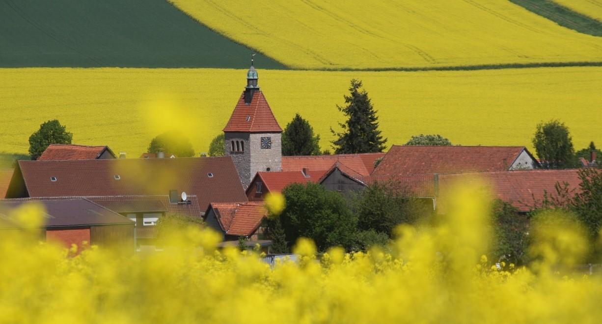 Im Dorf Heckenbeck bei Bad Gandersheim leben weniger als 500 Menschen.