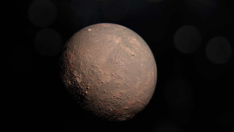 Künstlerische Darstellung des Planeten GJ 357 b.