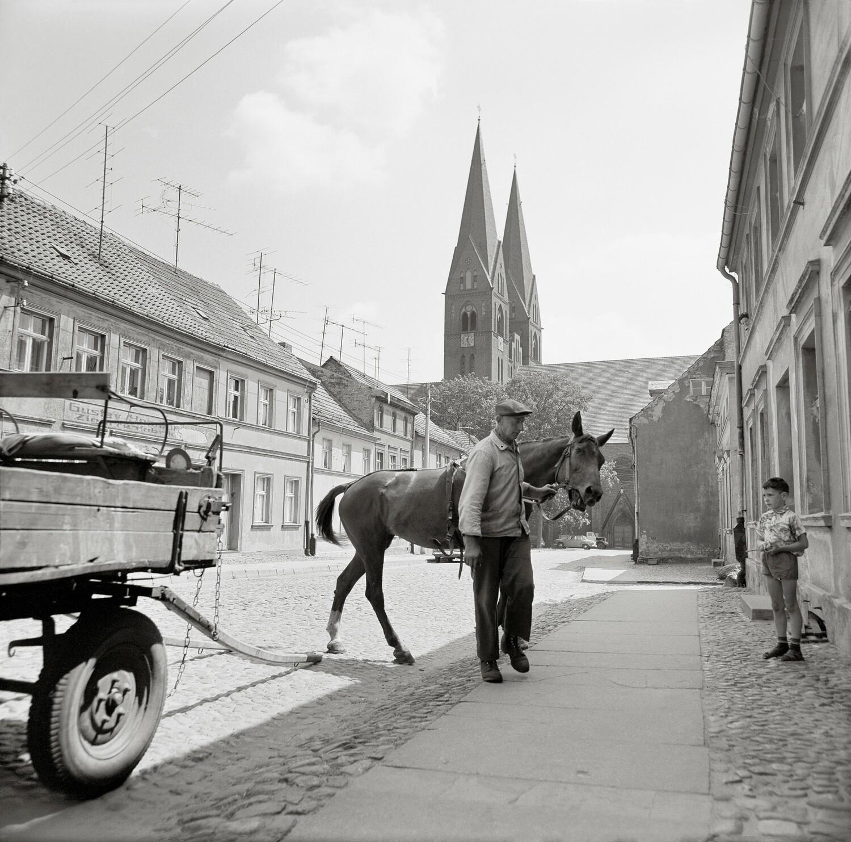 Klosterkirche St. Trinitatis, Neuruppin, 1970.