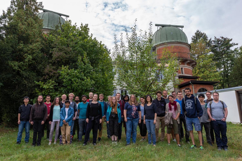 Mitglieder der Solar System School 2018.