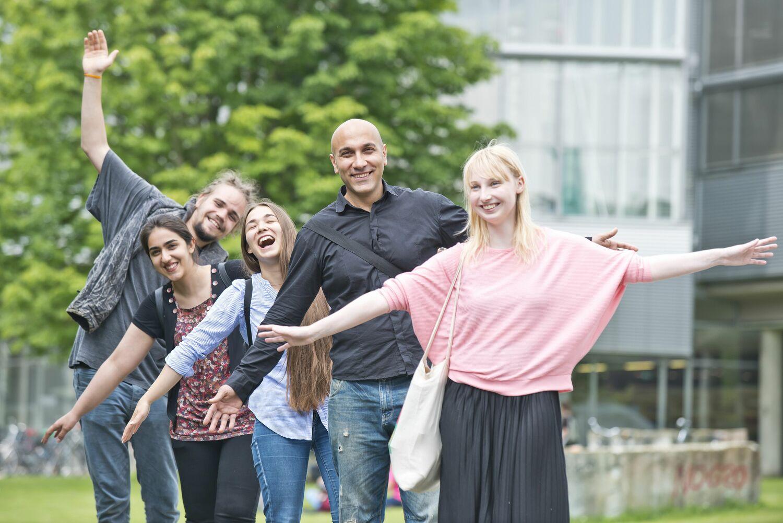 """Das Hochschulnetzwerk Enlight wird """"Europäische Universität"""". Studierende waren zu jedem Zeitpunkt an der Entwicklung des Projekts beteiligt."""