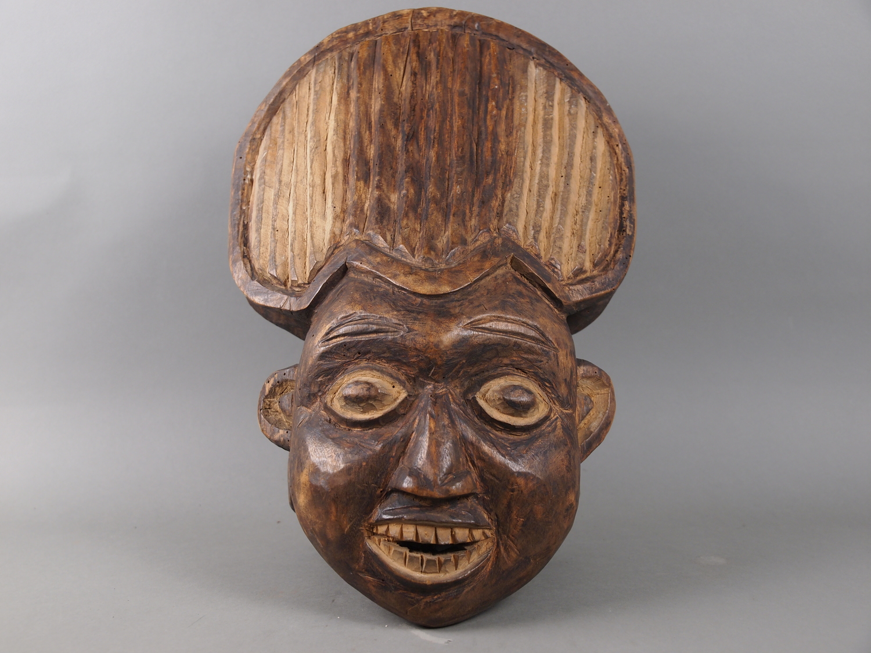 Aufsatzmaske der Bamum (Kamerun), Ethnologische Sammlung der Universität Göttingen