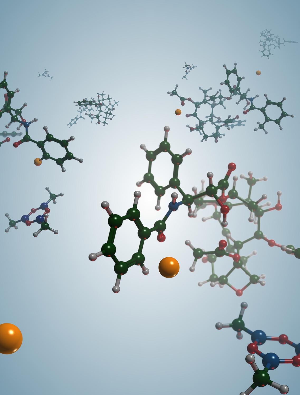 Der Cobaltkatalysator spaltet selektiv eine C-H Bindung.