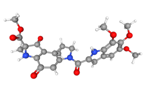 The research team worked on the natural product Duocarmycin.