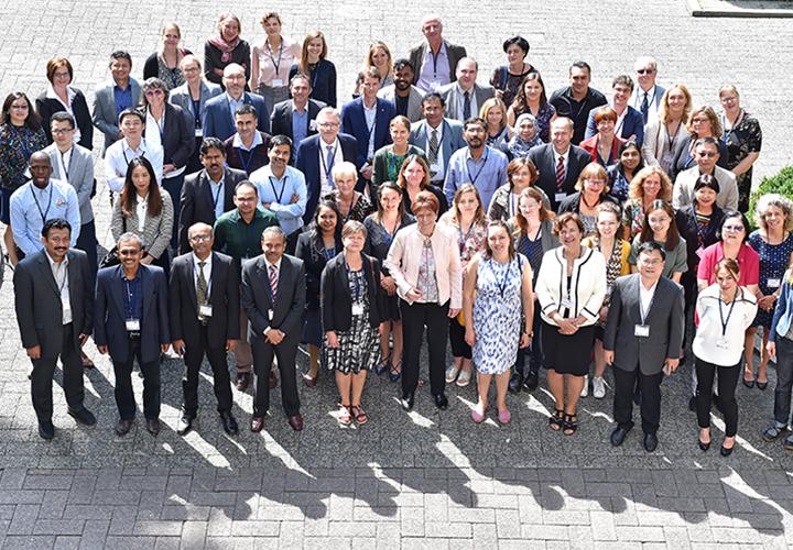 """Zum Abschlussworkshop des EU-Programms """"Erasmus Mundus Action 2"""" Ende Juni 2018 in Göttingen kamen mehr als 60 Delegierte von 48 Partneruniversitäten."""