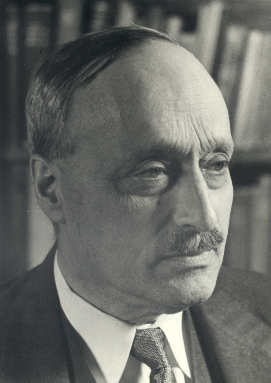 James Franck (1882–1964), Professor an der Universität Göttingen (1921–1933).