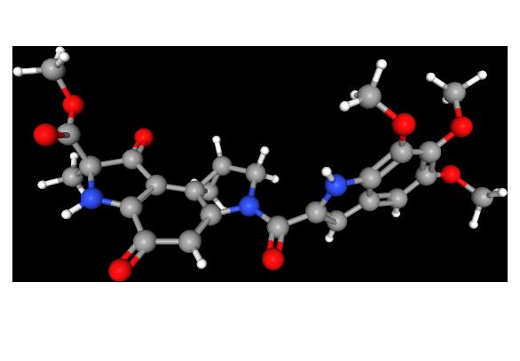 Das Forschungsteam arbeitete an dem Naturprodukt Duocarmycin.