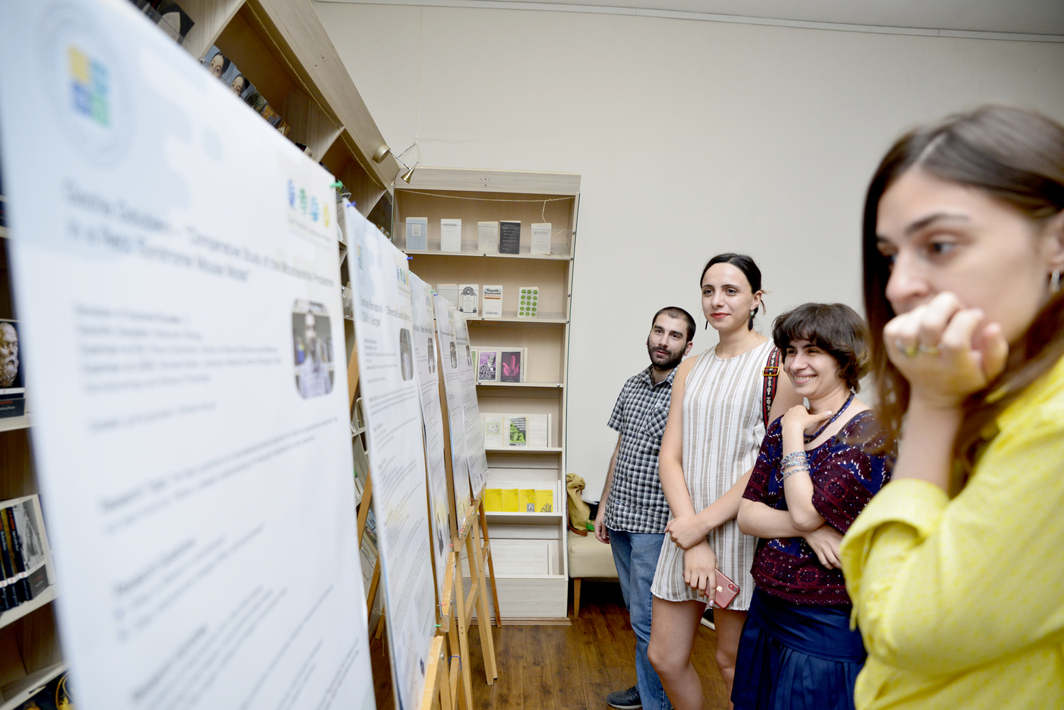 Presentation of doctoral projects at the launching event of the International Doctoral School at Ilia State University