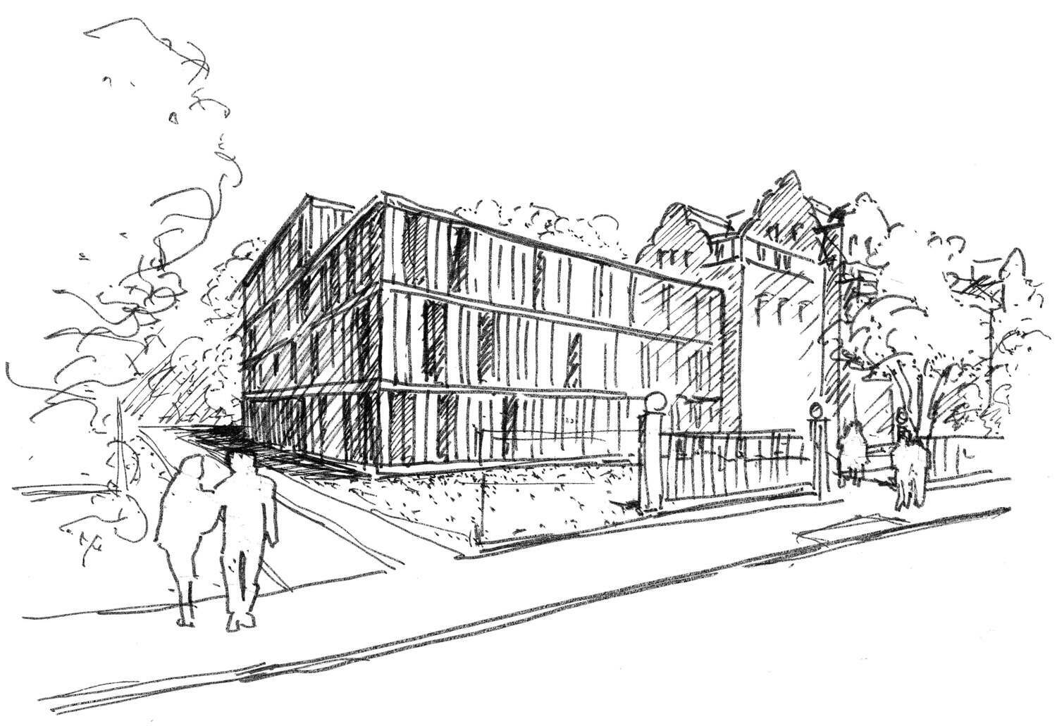 With a rating that was overall outstanding, the German Council of Science and Humanities has recommended that funding be given for the planned Human Cognition and Behavior (HuCaB) research building at Göttingen University. The new building will be around 3,500 square metres in total area and is to be built on the University's central campus between Goßlerstraße and Heinrich-Düker-Weg.