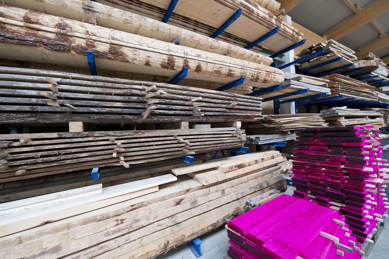 Die Laubholzforschung am FIL umfasst künftig fünf Forschungsschwerpunkte, von der Holznutzung über den Holz- und Brandschutz bis hin zur Verarbeitung von Laubholz beim Bau.
