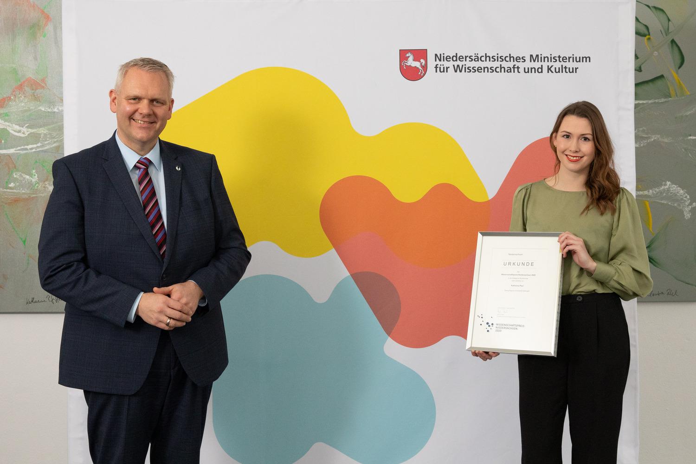 Wissenschaftspreis Niedersachsen 2020 in der Kategorie