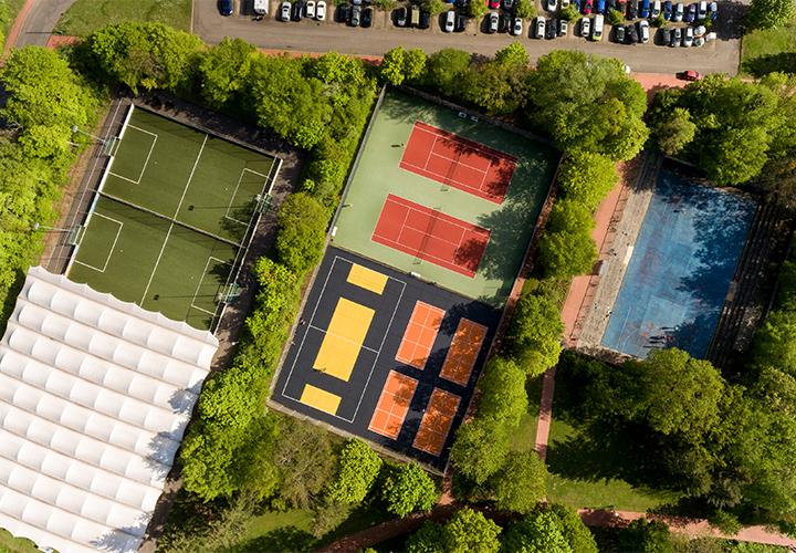 Neue Outdoor Spielflächen am Hochschulsport