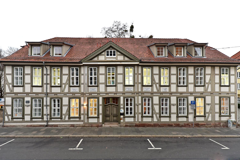 Historische Stätte der Chemie: das alte chemische Laboratorium an der Hospitalstraße, das so genannte Wöhler-Haus.