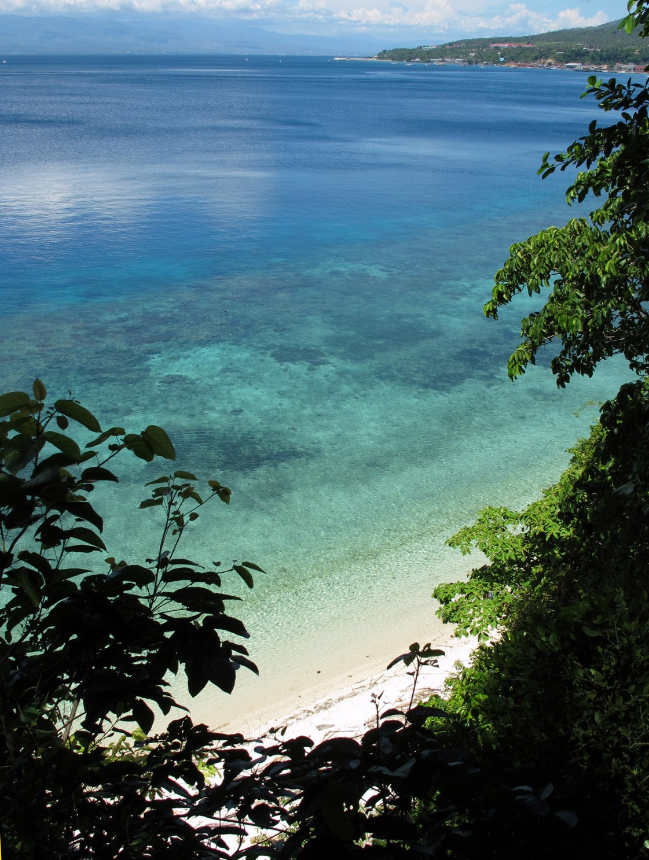 Ein tropisches Riff in Donggala bei Palu in Indonesien.