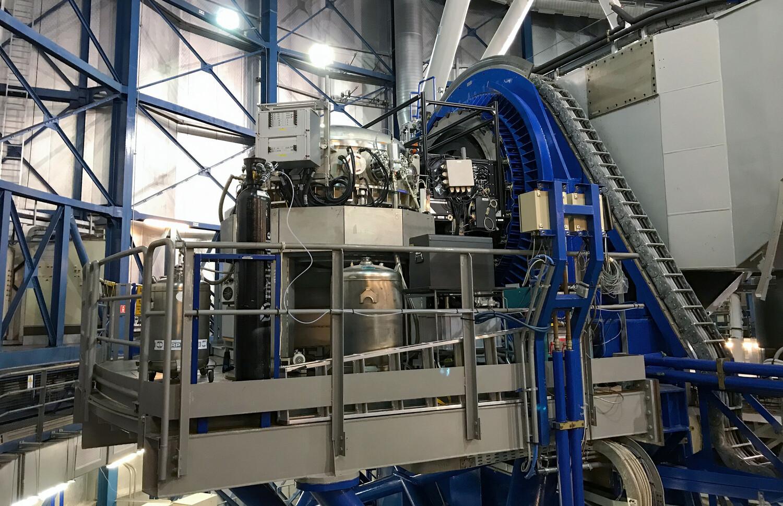 CRIRES+ ist ein am VLT der ESO installiertes Instrument, das nach potenziell bewohnbaren Super-Earth-Exoplaneten suchen soll. Das Instrument wurde im Jahr 2021 in Betrieb genommen.